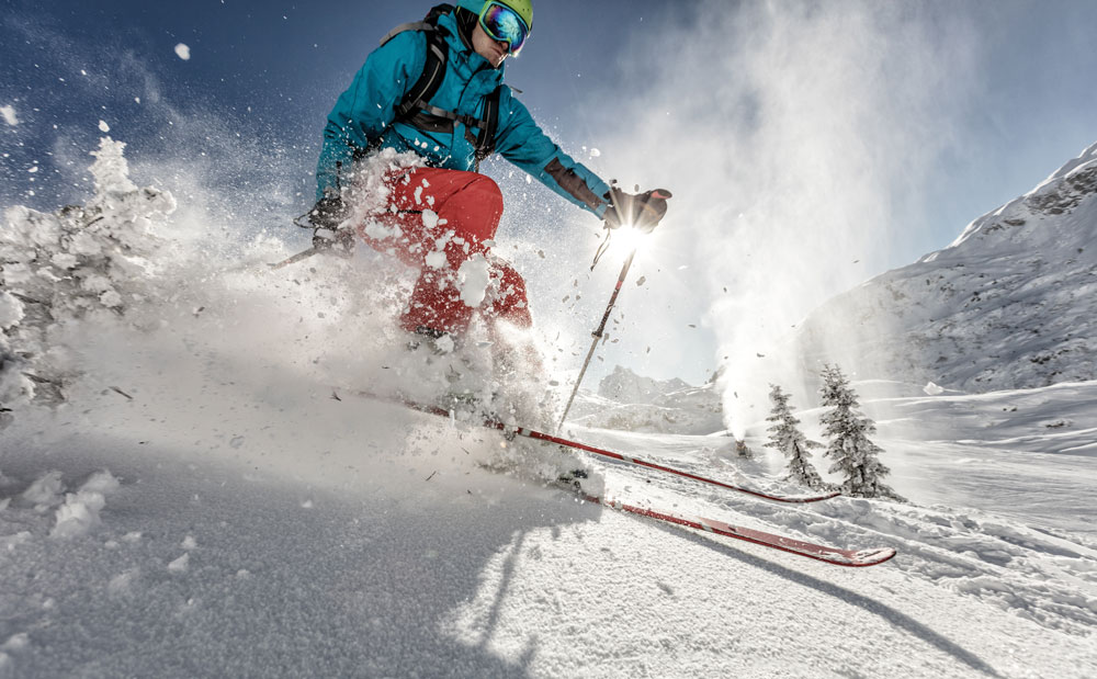 Getaktet wie beim Ski fahren