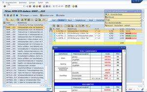 Planzeiten im Unternehmenssystem handhaben