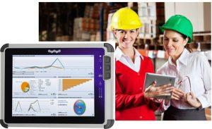 Robuste Tablet-PCs für den industriellen Einsatz