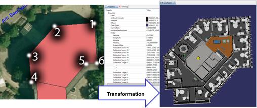 Tracking und Visualisierung in 3D-Modellen