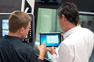 Industrielle Vernetzung per Tablet-PC