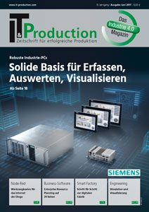 IT&Production Juni 2017 Heft Cover
