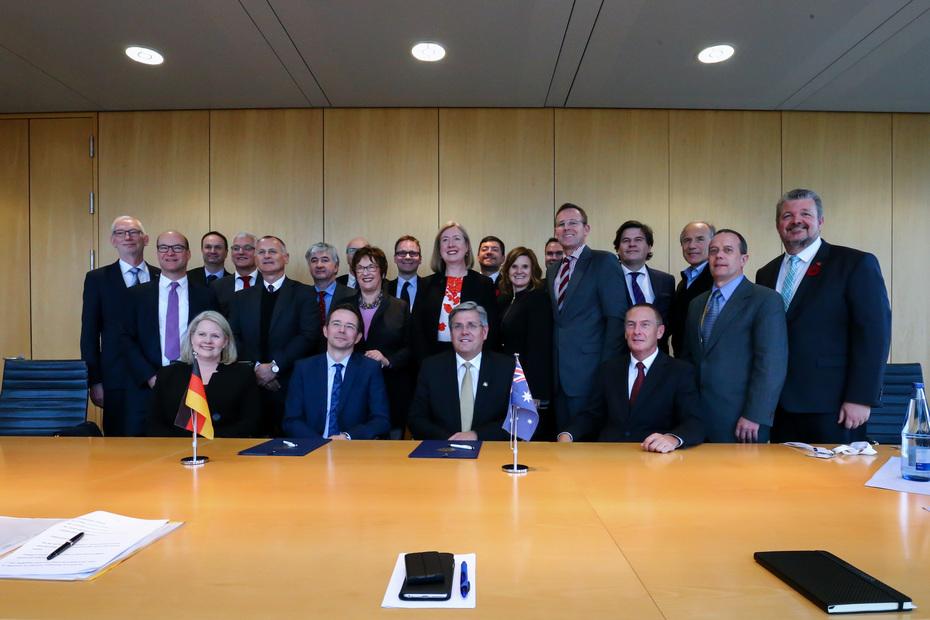 Deutsch-australische Kooperation vereinbart