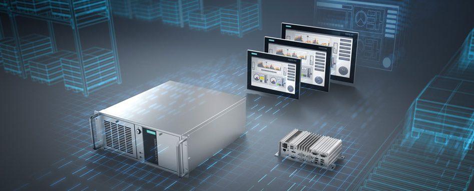 Industrie-PCs sind dafür konzipiert, Daten selbst in rauen Umgebungen prozesssicher zu erfassen. Dieser Anforderung werden sich Unternehmen bei ihrer digitalen Transformation zunehmend stellen müssen. (Bild: Siemens AG)