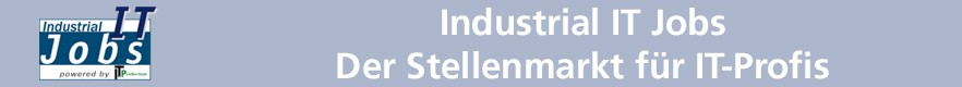 Industrial IT Jobs - Der Stellenmarkt f�r IT-Profis