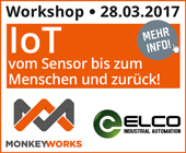 Anwenderworkshop MONKEYWORKS/ELCO AT 2017