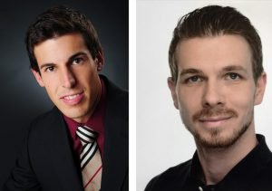 Dominik Weggler (linkes Bild) und Christoph Schiffer arbeiten bei der Gefasoft GmbH.