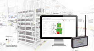 Transparenz für die Produktionslogistik