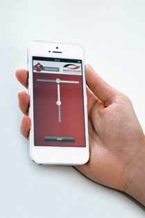 Intuitive Steuerung über Handy-Bedienoberflächen