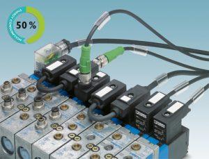 Mit Reduzierfunktion am Ventilstecker Strom sparen