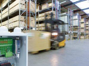 Hybridnetze in der Werkhalle