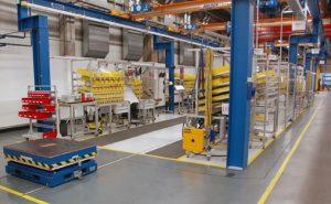 Werkstrukturplanung für den Schiffsgetriebebau