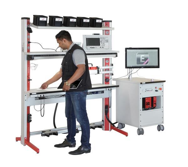 Hat sich der Mitarbeiter am Arbeitsplatz authentifiziert, kann er eine individuell auf ihn zugeschnittene Werkerführung aufrufen. (Bild: Elabo GmbH)