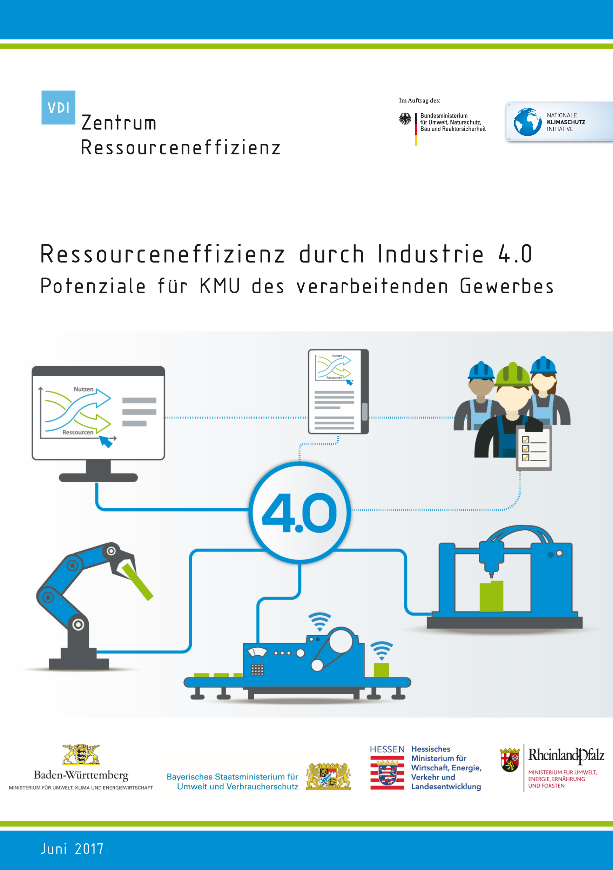 Industrie 4.0 für KMU spart Ressourcen