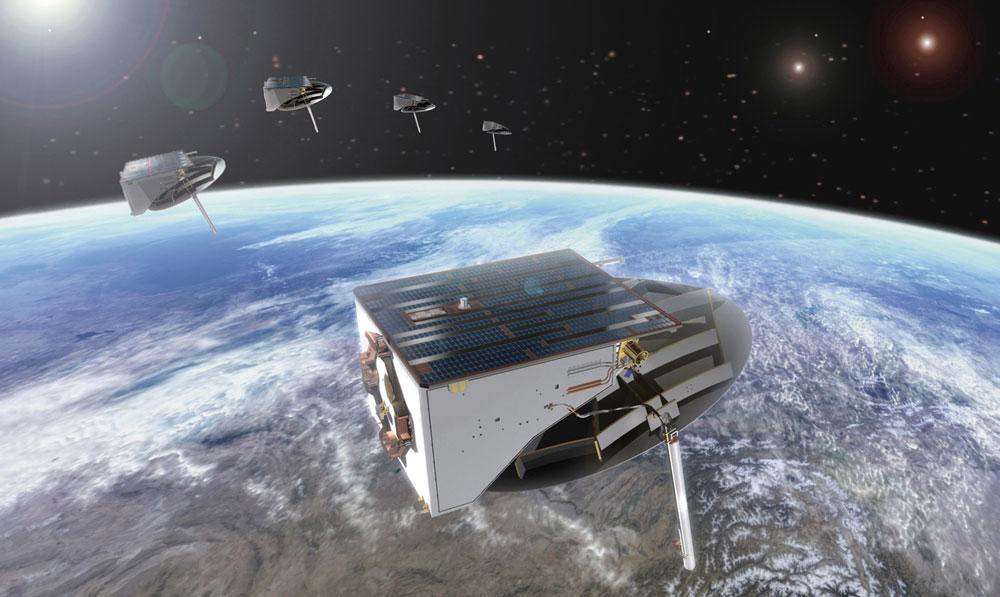 Leistungsfähiges Produktionsplanungssystem sorgt für termingerechte Auslieferung von Satellitenkommunikationsprodukten.