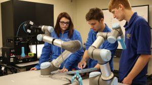 Lehre mit Robotern