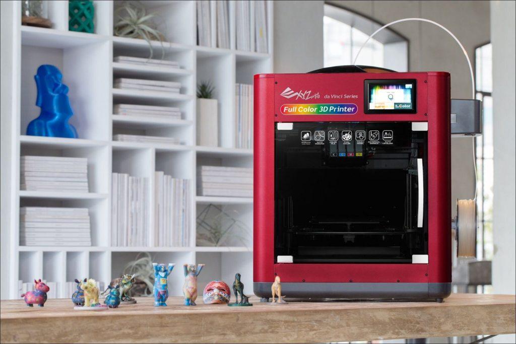 Aufgrund der PLA-Filamente sollen weder Geld noch Zeit f?r die Nachbearbeitung der Prints aufgewendet werden m?ssen. (Bild: XYZprinting Netherlands B.V.)