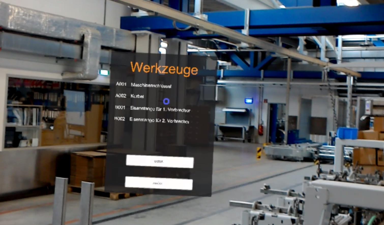 Maschinenrüsten mit Augmented Reality (AR) optimieren?