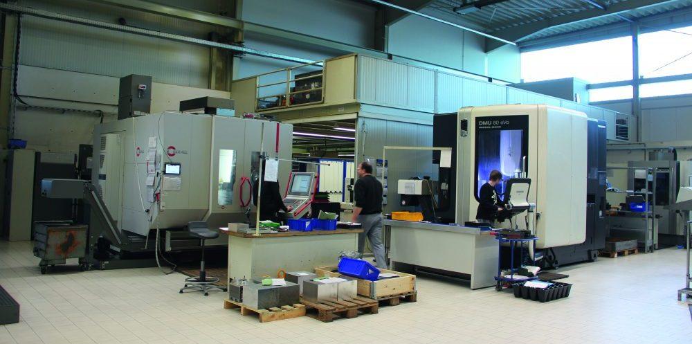 Ein Einblick in die Produktionshallen der Heggeman AG. Auf dem Weg zur perfekten Feinplanung