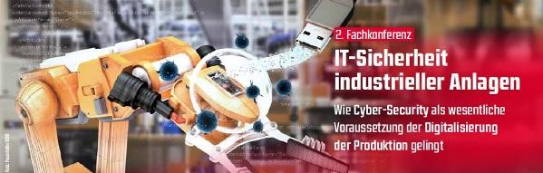 2. Fachtagung: IT-Sicherheit industrieller Anlagen