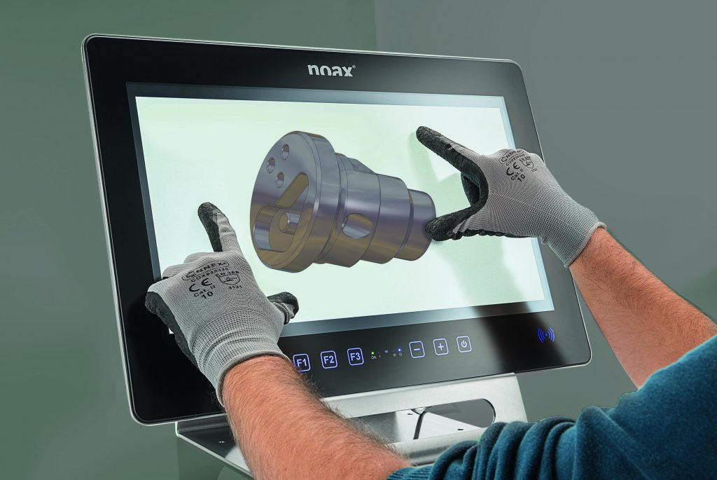 Mit der nSmart-Software von Noax lassen sich Anwendungsszenarien erstellen. (Bild: Noax Technologies AG)