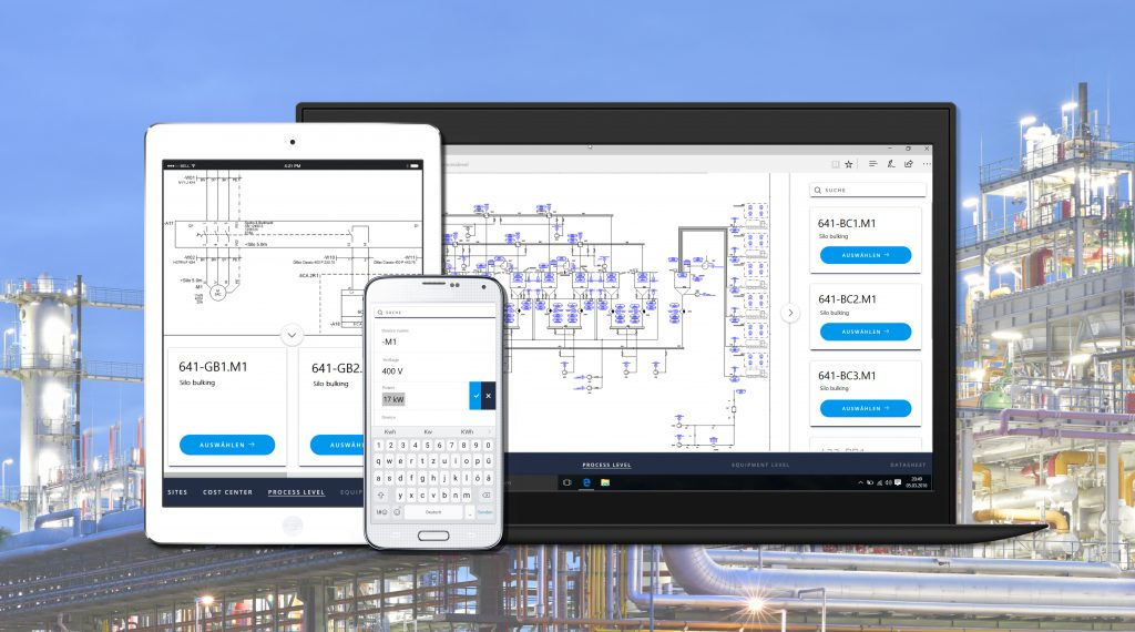 Aucotec zeigt auf der SPS IPC Drives sein Cloud- und App-Konzept. (Bild: Aucotec AG)