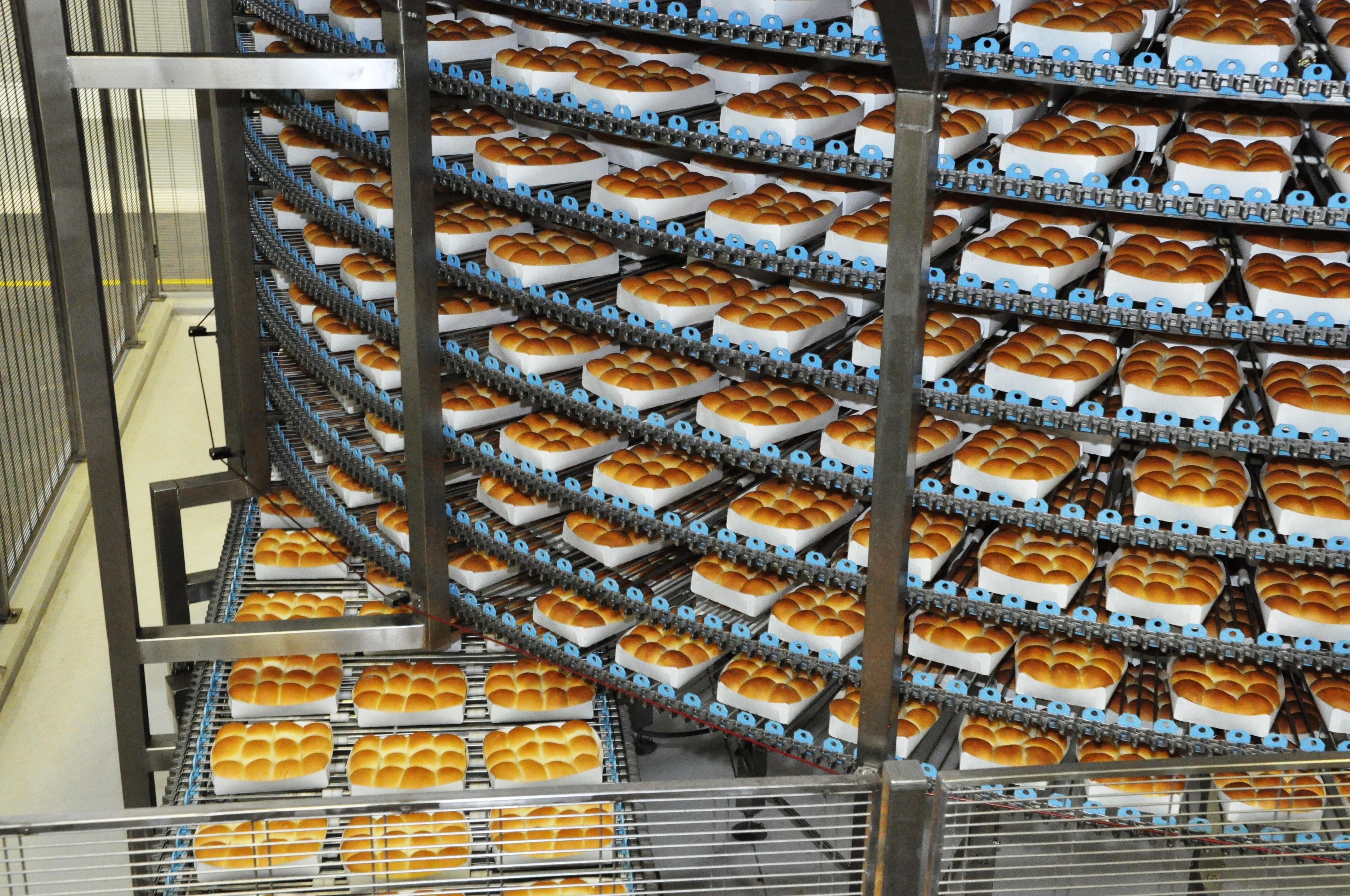 Gebäckhersteller - Gebäcklagerung
