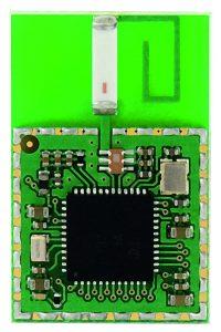 Industrial IoT - Ein IoT-Modul liefert Funkverbindung und Ende-zu Ende-Verschlüsselung zur Vernetzung von Geräten.