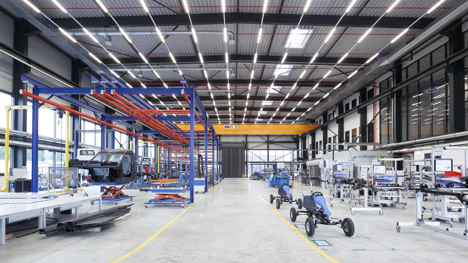 Ein Bild einer Demonstrationsfabrik