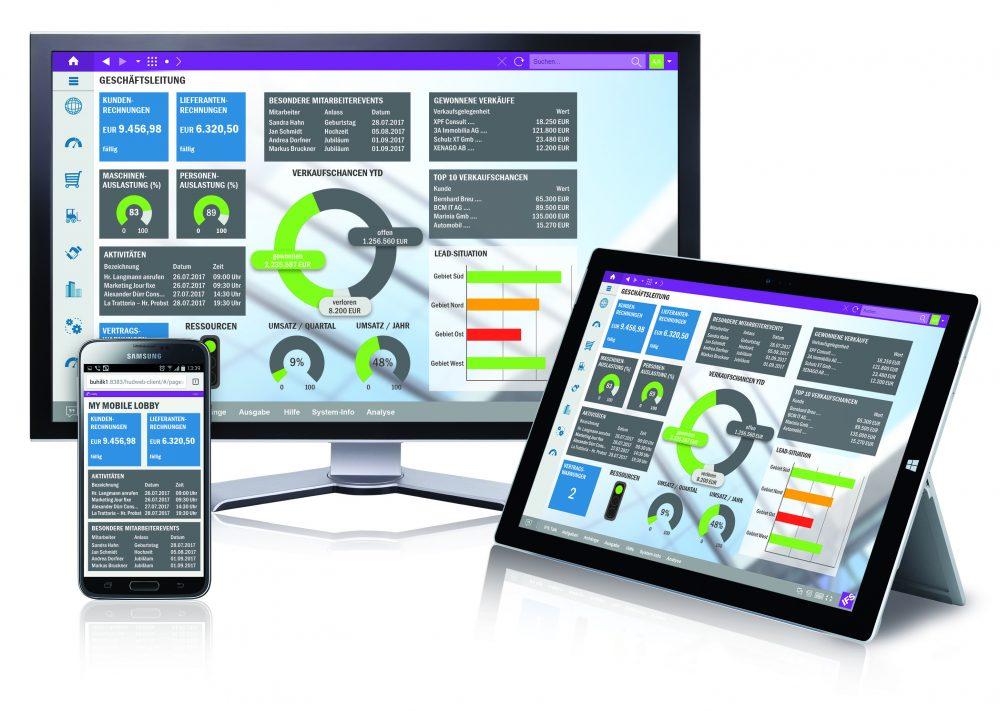 Systemauswahl: Eine ERP-Software-Lösung sollte den Nutzern einen attraktiven und intuitiven Zugang bieten - auch mobil.
