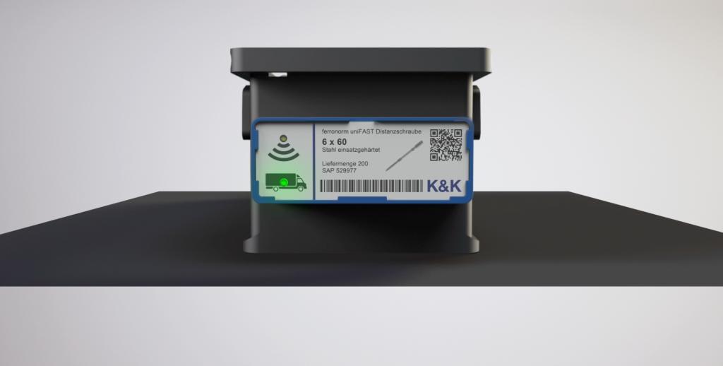 Neben der Plattform eLogistics zeigt Keller & Kalmbach auf der Logimat seine Kanban-Logistiksysteme auf RFID- und NFC-Basis. (Bild: Keller & Kalmbach GmbH)