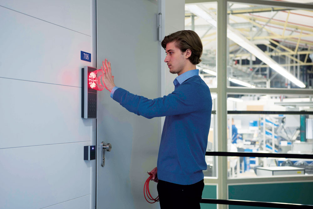 Zeit und Zutritt | Zutrittskontrolle | Zutrittskontrolllösung | Sicherheit | Sicherheitsinstrument