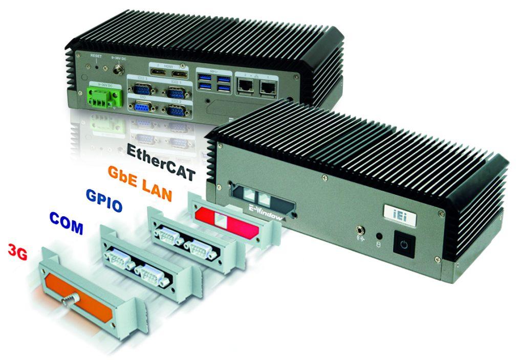 Das Modell ECN-360A-ULT3 wird mit Befestigungswinkel geliefert und lässt sich an VESA 100-Halterungen montieren. (Bild: Comp-Mall GmbH)