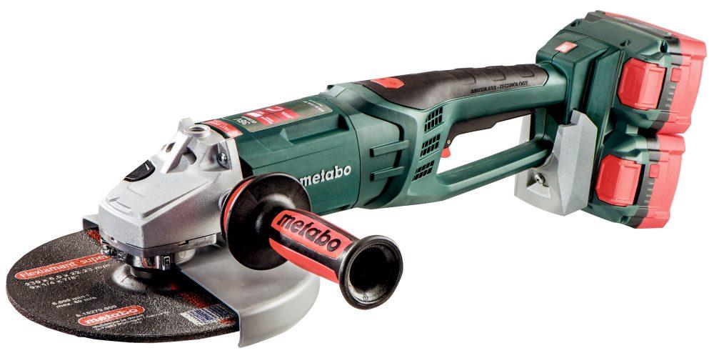 Elektrowerkzeuge von Metabo, zum Beispiel Winkelschleifer, sind für den industriellen Einsatz konzipiert.