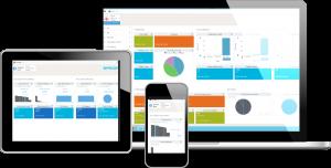 Die Active Homepage liefert Dashboard-Ansichten für rollenbasierte Analysen. (Bild: Epicor Software Deutschland GmbH)