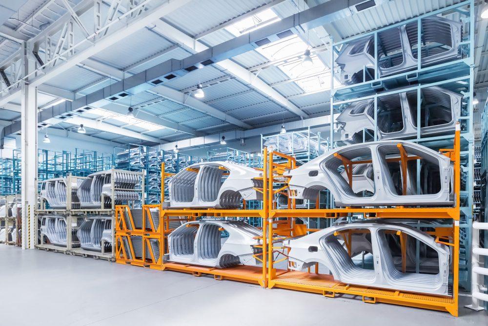 Virtuelle Inbetriebnahme - Sensortechnik in der Automobilfabrik