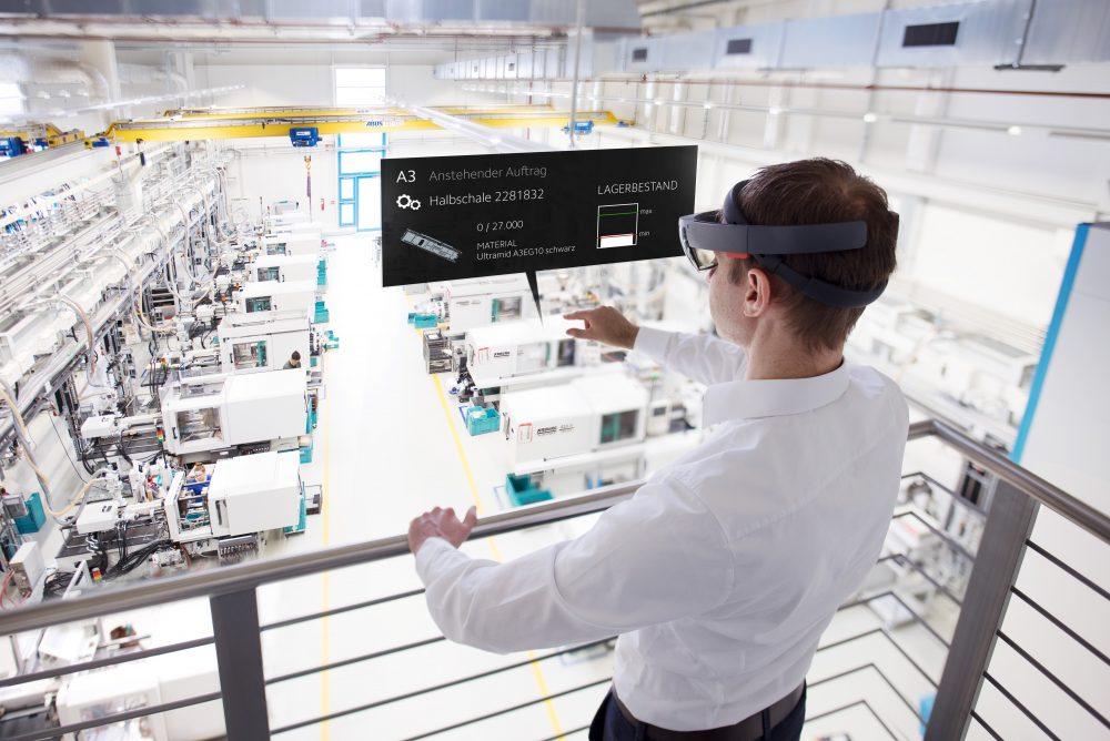 AR-Datenbrillen im Werk