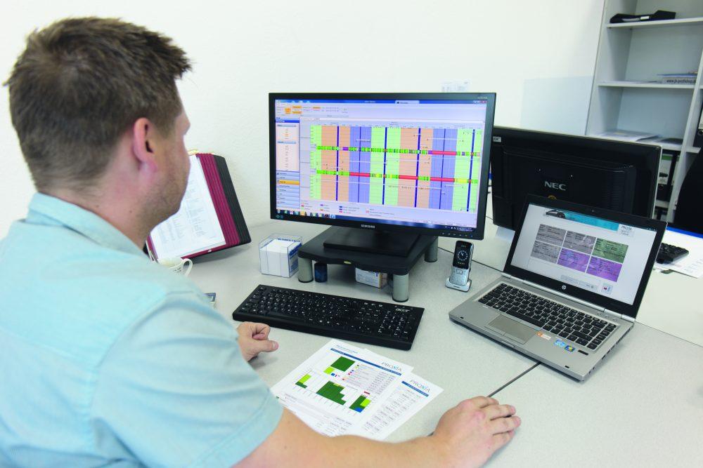 Zettelwirtschaft | MES | Proxia Software GmbH | Fertigungsnahe-IT | Stahlbauer Tillmann Profil GmbH