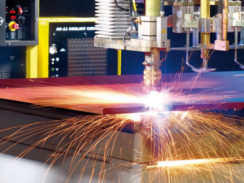 Das Portfolio von Luxforge umfasst neben dem Stahl- und Metallbau auch Blechberarbeitung, Pulverbeschichtung, Tankbau und Demontage.