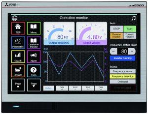 Widescreen-Displays für Maschinenhersteller