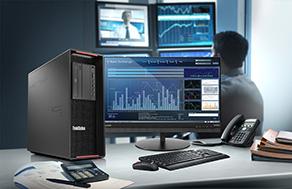 Der P520 unterstützt die Intel RAID-Virtualisierungstechnologie (VROC). (Bild: Lenovo (Deutschland) GmbH)