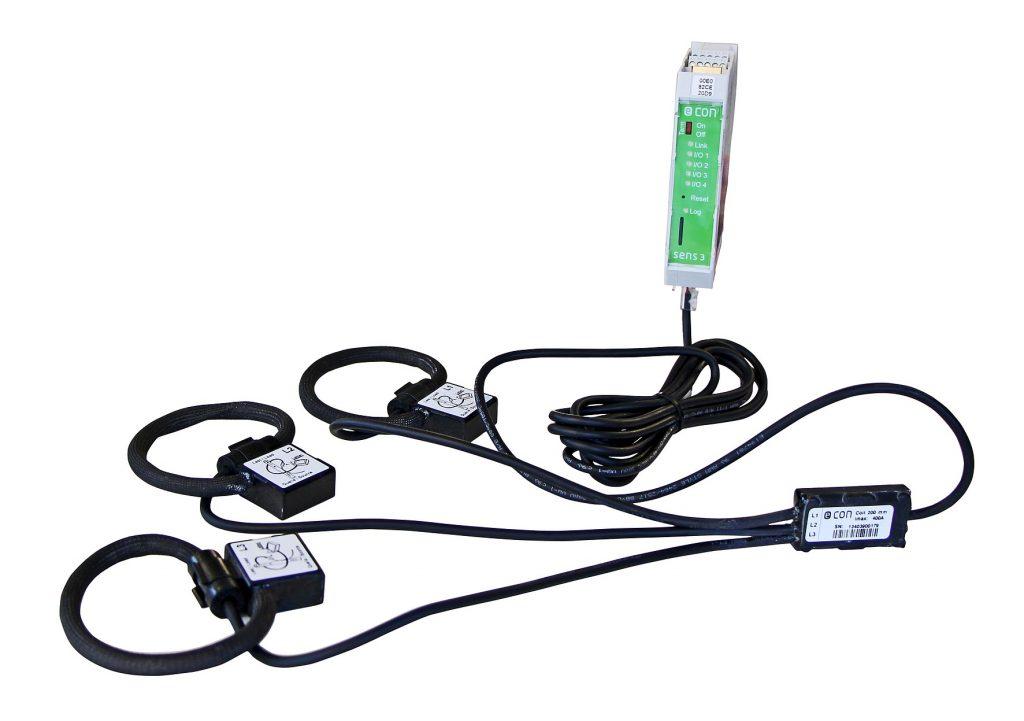 Das Strom- und Leistungsmessgerät Econ Sens3 lässt sich einfach mit der Energiemanagement-Software Econ3 verbinden. (Bild: Econ Solutions GmbH)