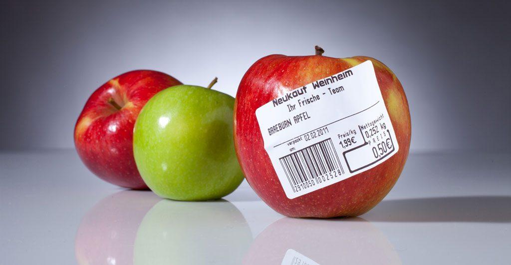 Die Thermotechnologie wird für Selbstklebeetiketten genutzt, zum Beispiel an der Obstwaage im Supermarkt. Die Koehler Paper Group ist Weltmarktführer im Bereich der Economy Thermo-Labelpapiere.