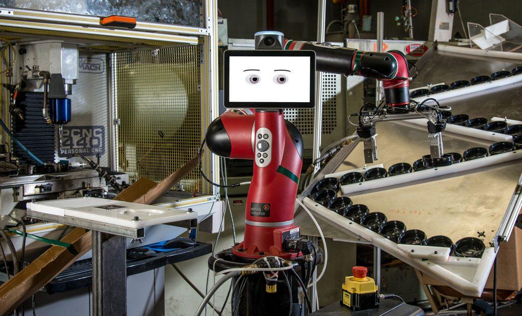 Kollege Roboter: Cobot an der CNC-Maschine