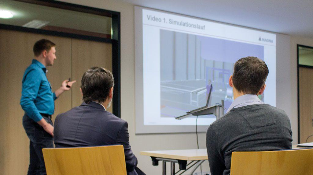 """Der TaraVRbuilder ist auf leichte Bedienbarkeit ausgelegt. """"Trotzdem empfehle ich eine Grundschulung, um die Funktionen der einzelnen Grundelemente kennen zu lernen,"""" sagt Enrico Sann, Site Structure Planner bei Magna Exterior."""