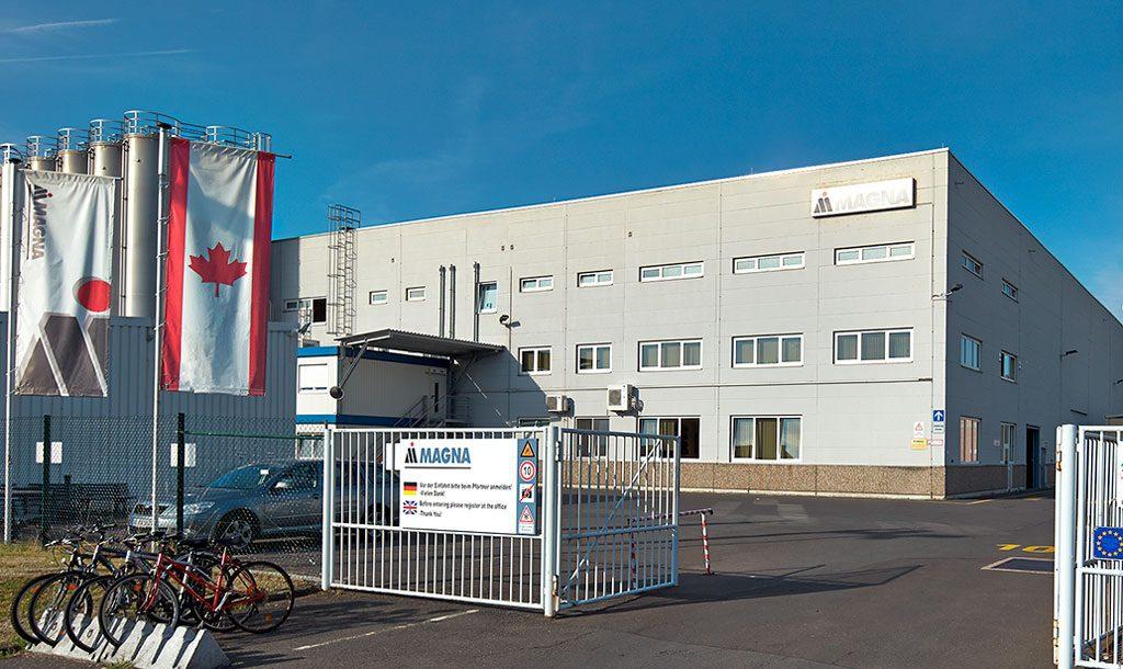 Automobilzulieferer Magna Exteriors - Werk in Idar-Oberstein