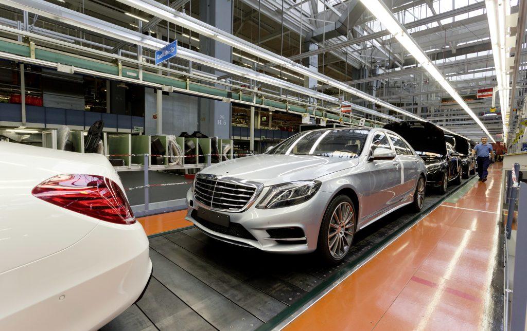 Papierlos im Mercedes-Benz-Werk?