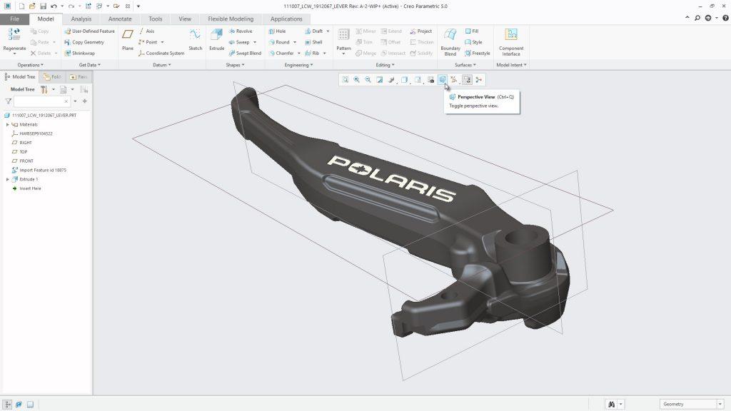 Creo 5.0 unterstützt den bidirektionalen Austausch von Teilen und Baugruppen mit Autodesk Inventor. (Bild: Parametric Technology GmbH)