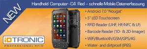 Die Modelle der C4-Serie unterstützen 4G LTE und die dualen Wi-Fi Frequenzen 2,4 und 5,8 Gigahertz. (Bild: Idtronic GmbH)