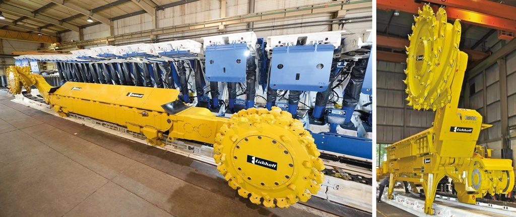 Mit einem weltumspannenden Servicenetzwerk will Eickhoff sicherstellen, dass die produzierten Gewinnungsmaschinen für den Bergbau störungsfrei laufen. Künftig soll per IoT sogar eine vorauschauende Instandhaltung eingerichtet werden.